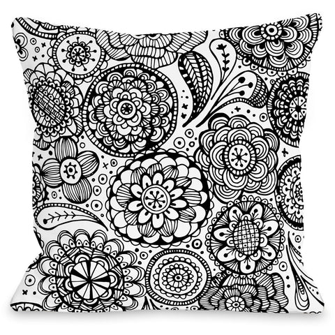 """Emma"" Outdoor Throw Pillow by Joy Ting, 16""x16"""