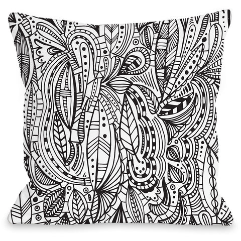 """Madison"" Outdoor Throw Pillow by Joy Ting, 16""x16"""