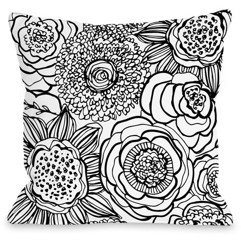 """Primrose"" Indoor Throw Pillow by Joy Ting, 16""x16"""