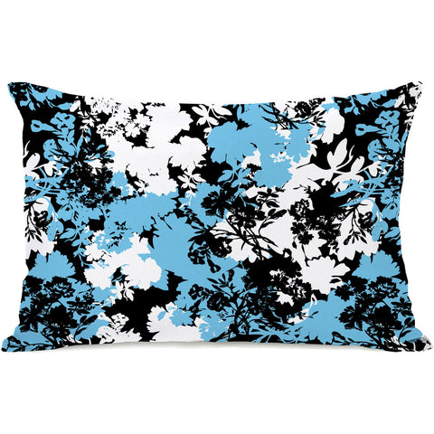 """Afternoon Tea Flowers"" Outdoor Throw Pillow by Jeanetta Gonzales, 14""x20"""