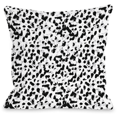 """Animal Instinct"" Outdoor Throw Pillow by Jeanetta Gonzales, 16""x16"""