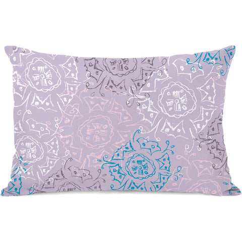 """Frozen Burst"" Outdoor Throw Pillow by Jeanetta Gonzales, 14""x20"""