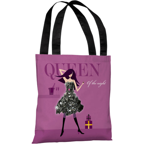 """Young and Lovely"" 18""x18"" Tote Bag by Dominique Vari"