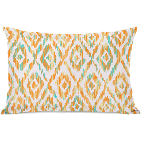 """Melona"" Outdoor Throw Pillow by OneBellaCasa, 14""x20"""