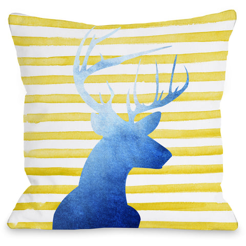 """Nolan"" Indoor Throw Pillow by OneBellaCasa, 16""x16"""