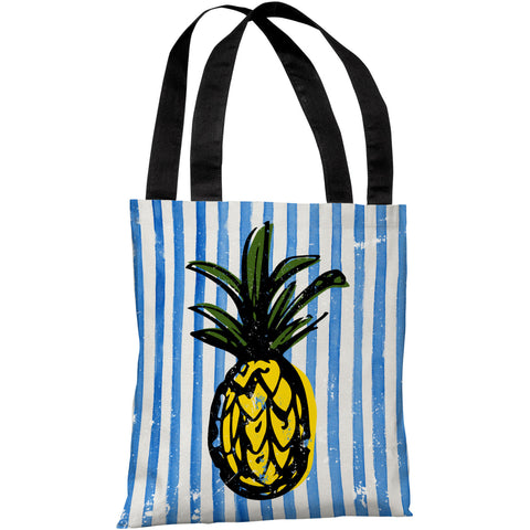 """Fineapple"" 18""x18"" Tote Bag by OneBellaCasa"