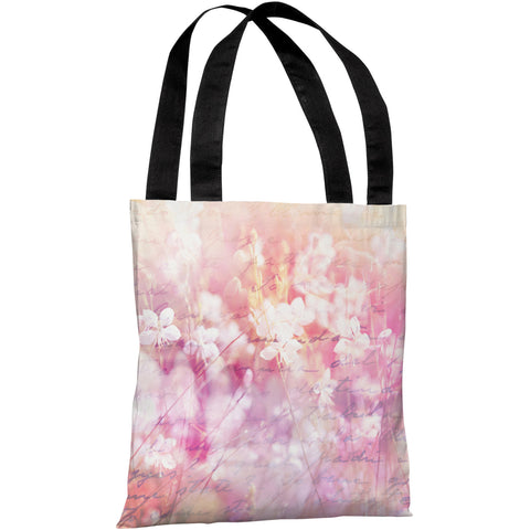 """Roaming In The Field"" 18""x18"" Tote Bag by OneBellaCasa"