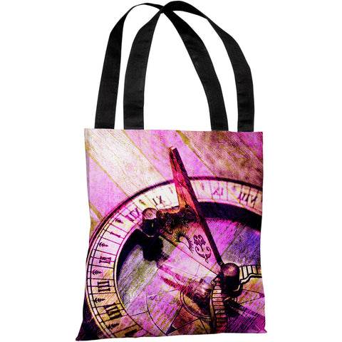 """Compass"" 18""x18"" Tote Bag by OneBellaCasa"