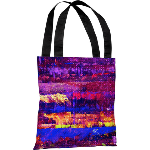 """Connect The Dots"" 18""x18"" Tote Bag by OneBellaCasa"