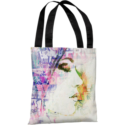 """Heart Wide Open"" 18""x18"" Tote Bag by OneBellaCasa"