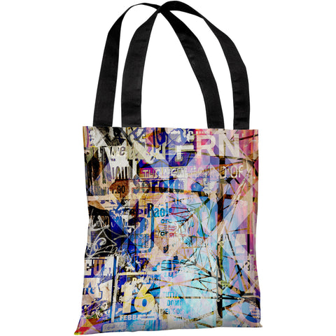 """Mixed Media"" 18""x18"" Tote Bag by OneBellaCasa"