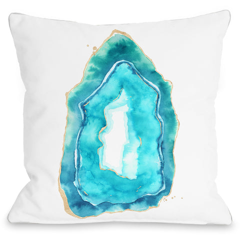 """Petite Formations"" Indoor Throw Pillow by lezleeelliot, 16""x16"""