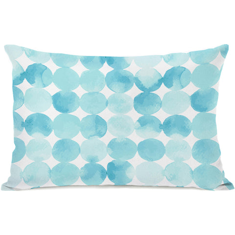"""Dream Dots"" Outdoor Throw Pillow by OneBellaCasa, 14""x20"""