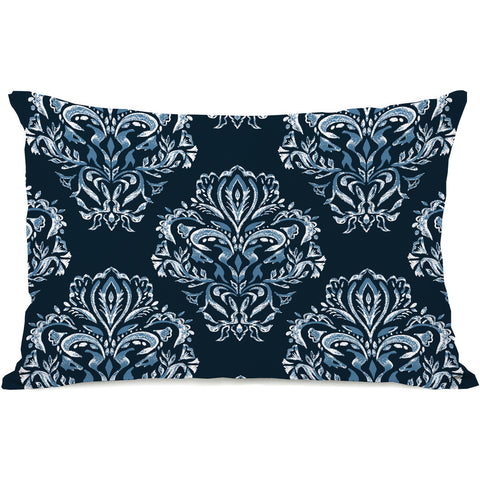 """Vintage Victorian"" Outdoor Throw Pillow by OneBellaCasa, 14""x20"""