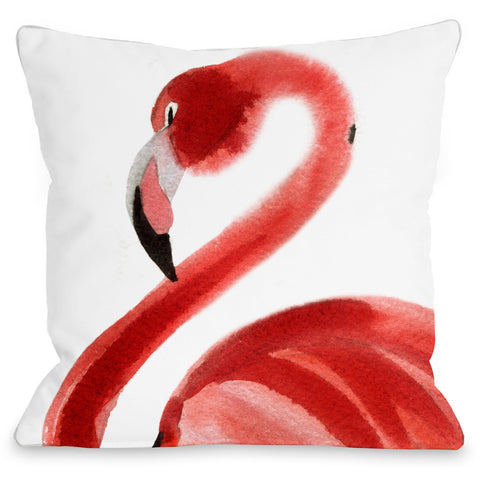 """Ride The Wave"" Indoor Throw Pillow by OneBellaCasa, 14""x20"""