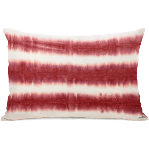 """Dye Pattern Candy"" Outdoor Throw Pillow by OneBellaCasa, 14""x20"""