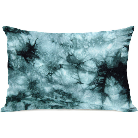 """Dye Pattern Electric"" Outdoor Throw Pillow by OneBellaCasa, 14""x20"""