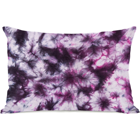 """Dye Pattern Meadow"" Indoor Throw Pillow by OneBellaCasa, 14""x20"""