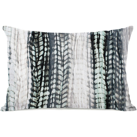 """Dye Pattern Sky"" Outdoor Throw Pillow by OneBellaCasa, 14""x20"""
