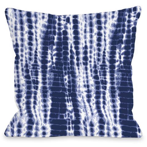 """Dye Pattern Midnight"" Indoor Throw Pillow by OneBellaCasa, 16""x16"""