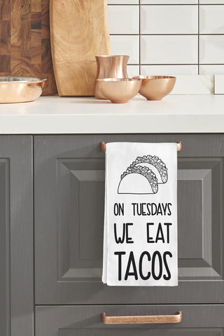 """Taco Tuesday"" Tea Towel by OneBellaCasa"