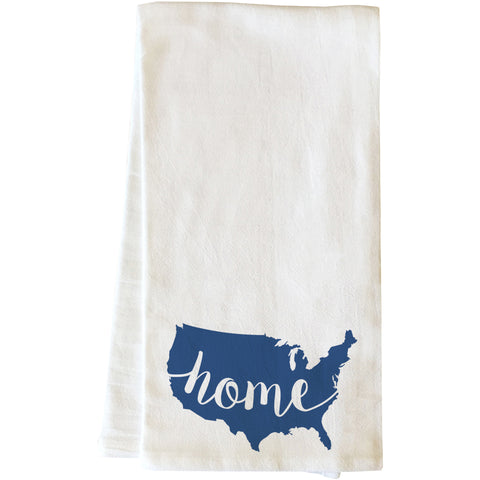 """USA Home"" Tea Towel by OneBellaCasa"
