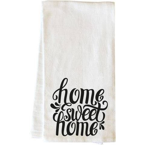 """Home Sweet Home"" Tea Towel by OneBellaCasa"