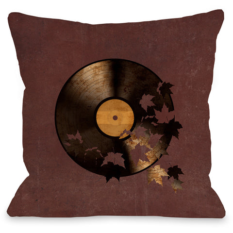 """Autumn Song"" Indoor Throw Pillow by Terry Fan, 16""x16"""