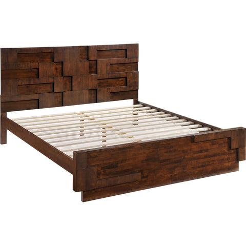 San Diego King Bed Walnut