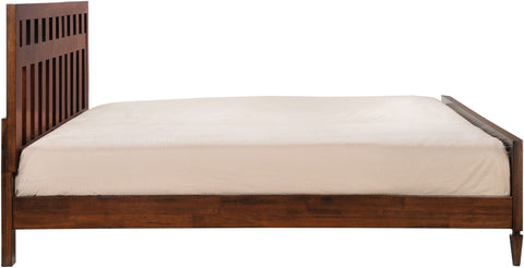 LA King Bed Walnut