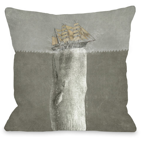 """Revenge"" Indoor Throw Pillow by Terry Fan, 16""x16"""