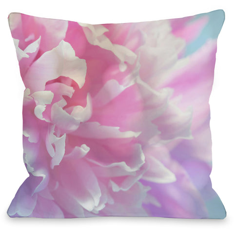 """Courtney"" Outdoor Throw Pillow by OneBellaCasa, 16""x16"""