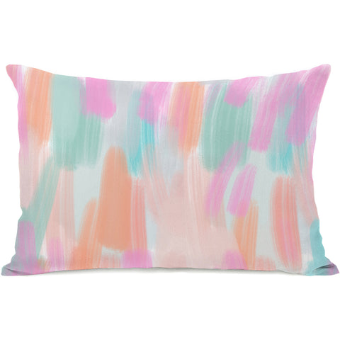 """Molly"" Outdoor Throw Pillow by OneBellaCasa, 14""x20"""