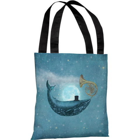 """Cloud Maker"" 18""x18"" Tote Bag by Terry Fan"