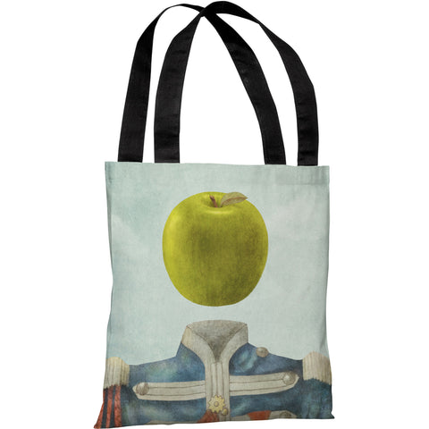 """Sgt.Apple"" 18""x18"" Tote Bag by Terry Fan"