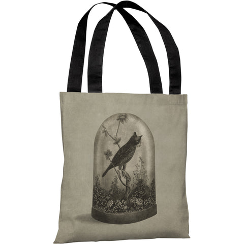 """The Curiosity"" 18""x18"" Tote Bag by Terry Fan"