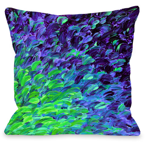 """Deep Sea Drift"" Indoor Throw Pillow by Julia Di Sano, 16""x16"""