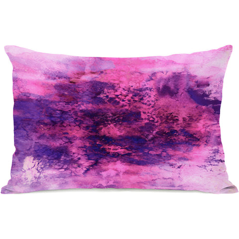 """Onyx Summer"" Indoor Throw Pillow by OneBellaCasa, 14""x20"""