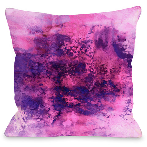 """Epoch"" Outdoor Throw Pillow by Julia Di Sano, 16""x16"""