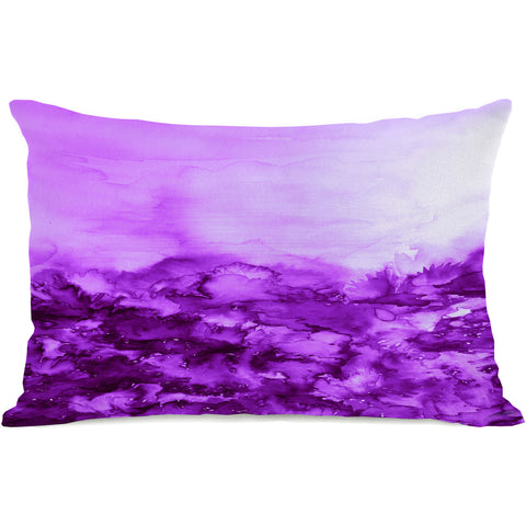 """Into Eternity"" Outdoor Throw Pillow by Julia Di Sano, 14""x20"""