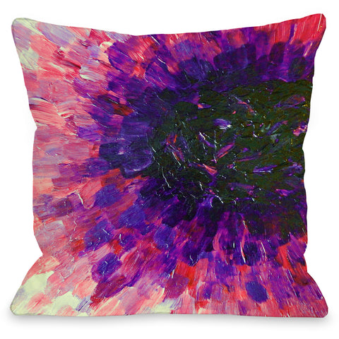 """Limitless"" Outdoor Throw Pillow by Julia Di Sano, 16""x16"""