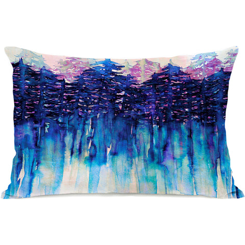 """Northwest Vibes"" Outdoor Throw Pillow by Julia Di Sano, 14""x20"""