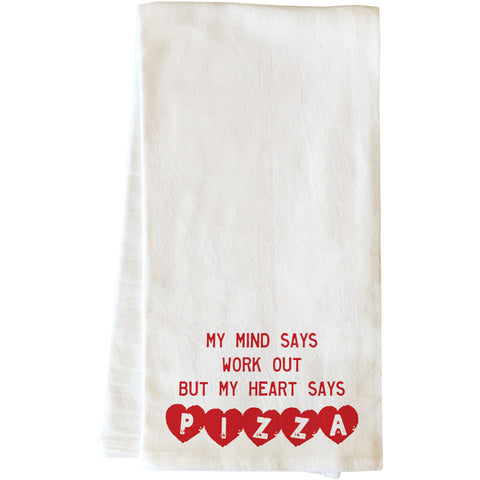 """Merry Christmas"" Tea Towel by OneBellaCasa"