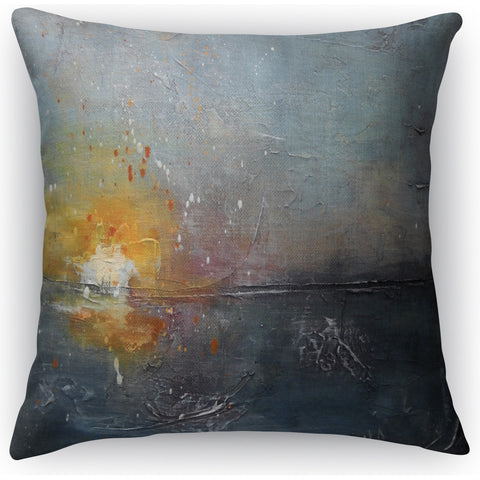 """Swiftly Sinking"" Indoor Throw Pillow by Carol Schiff, 16""x16"""