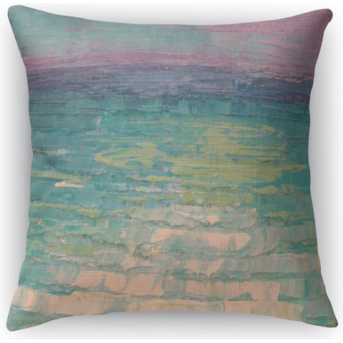 """Wakes"" Indoor Throw Pillow by Carol Schiff, 16""x16"""