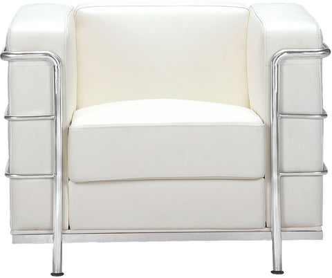 Fortress Arm Chair White