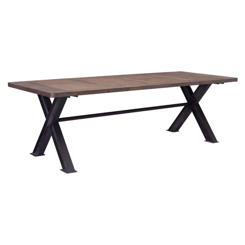 Haight Ashbury Dining Table Distressed Natural