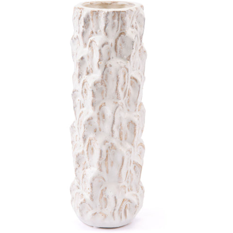 White Arena Vase, Small