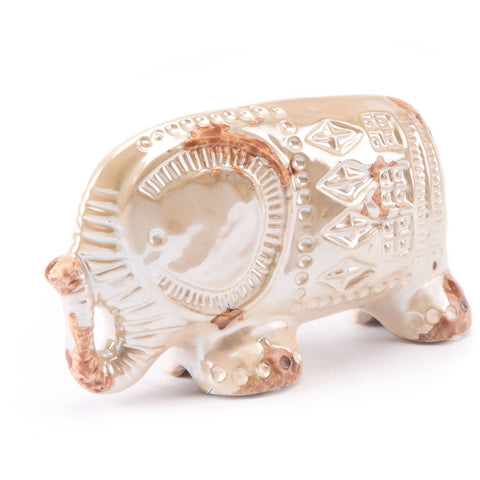 Gold Doble Rings Figurine
