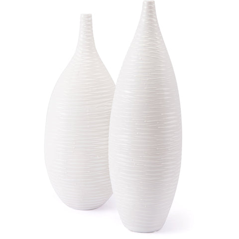 White Hat Vase, Large